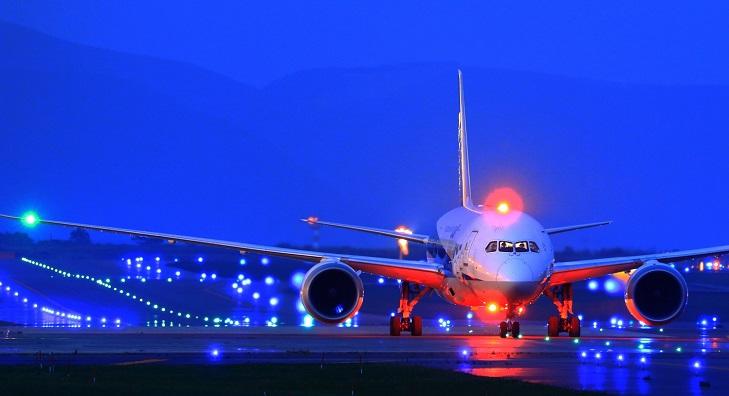 飛行機搭乗時間