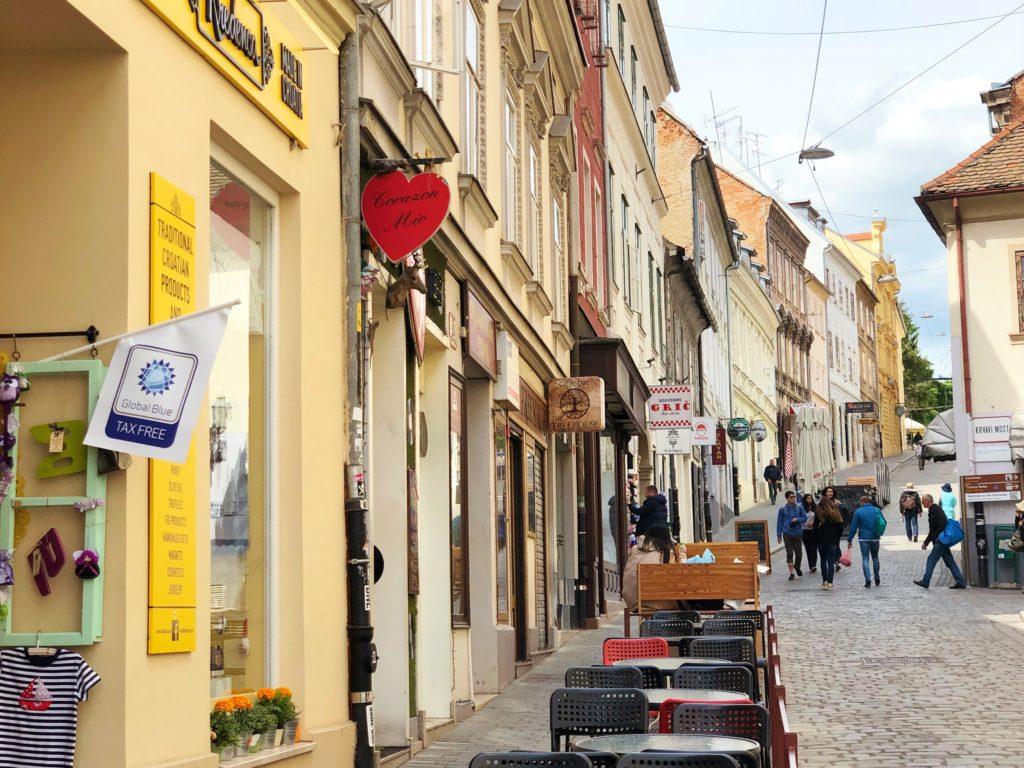 クロアチアの街
