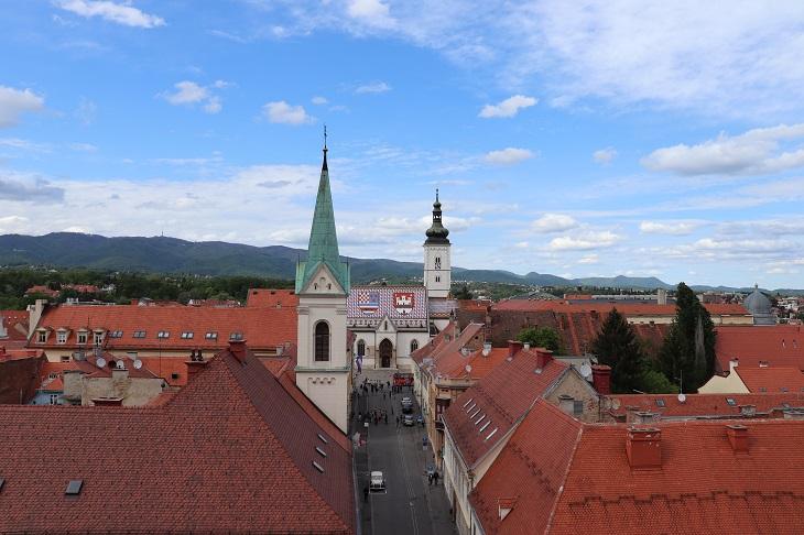 ロトゥルシュチャク塔からの眺め
